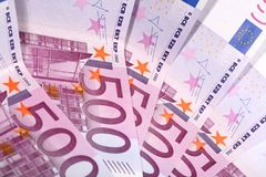 Euro 500 Lizenzfreies Stockfoto