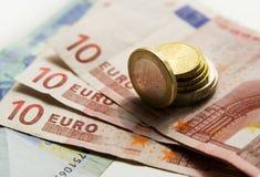 Euro Royalty-vrije Stock Afbeeldingen