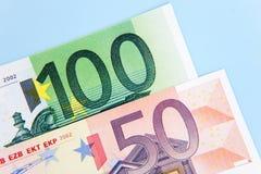 euro 150 Royaltyfria Bilder