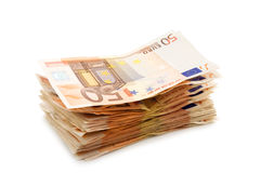 Euro- imagem de stock
