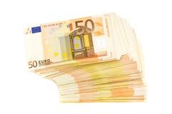 Euro Stock Afbeelding