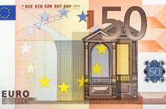 euro 50 Fotografering för Bildbyråer