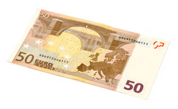 euro 50 ! ! ! Image libre de droits