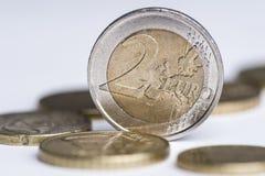 2 euro Royalty-vrije Stock Fotografie