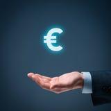 Euro aanbieding Stock Afbeeldingen