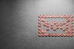 euro-abstract 100 Fotografie Stock Libere da Diritti