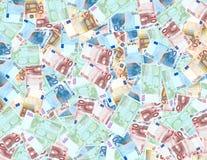 Euro achtergrond royalty-vrije stock foto