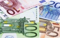 Euro achtergrond Royalty-vrije Stock Fotografie