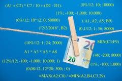 Euro actualité de monnaie légale, pour acheter sur le marché photos libres de droits