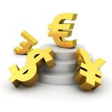 Euro advantage Royalty Free Stock Image