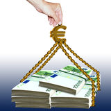 Euro aiuto Fotografia Stock
