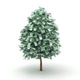Euro albero Illustrazione di Stock