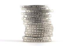 Euro alemão Foto de Stock Royalty Free