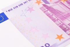 Euro als Hintergrund Lizenzfreies Stockfoto