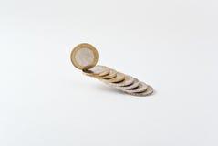 Euro antes del derrumbamiento Fotografía de archivo