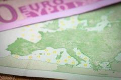Euro argent Photo libre de droits