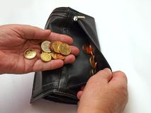 Euro argent 3 photos libres de droits