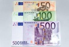 euro argent Image stock
