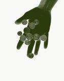 euro argent illustration stock