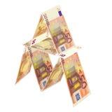 Euro arriscado Imagens de Stock Royalty Free