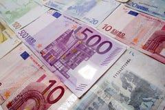 Euro background Royalty Free Stock Photo