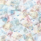 Euro background Royalty Free Stock Image