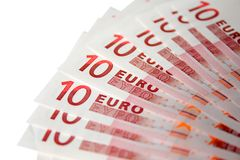 Euro background Stock Photo