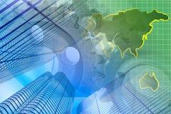 Euro background Stock Photography