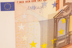 50 Euro. Background currency isolated Stock Photo