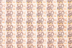 50 euro background Stock Photo
