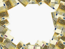 Euro background. Two hundred euros. 3D illustration Stock Image