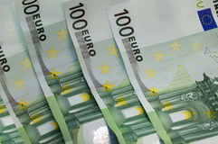 Euro for a background Royalty Free Stock Photos