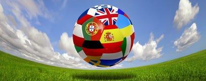 Euro ball Stock Photography