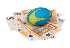 Euro and ball Royalty Free Stock Images