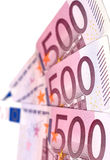 Euro banconote Fotografia Stock Libera da Diritti