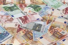 Euro banconote Immagine Stock