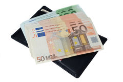 Euro banconote dei soldi Fotografie Stock Libere da Diritti