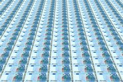 Euro bank bills Royalty Free Stock Image