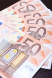 Euro bank note Stock Photo