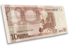 Euro bank note Royalty Free Stock Photography