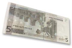 Euro bank note Royalty Free Stock Photo