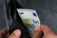 Euro bank note Stock Photo