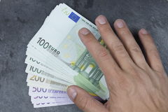 Euro bank note Stock Photography