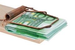 Euro bank notes Royalty Free Stock Image