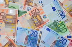 Euro Bank-notes Stock Photo
