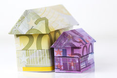 Euro bank notes House Stock Photos
