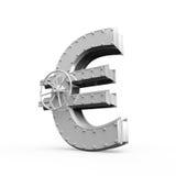 Euro Bank Safe Royalty Free Stock Photo