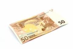 Euro bankbiljet Royalty-vrije Stock Foto