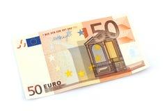 Euro bankbiljet Royalty-vrije Stock Afbeeldingen