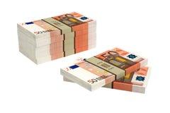50 euro bankbiljetten Stock Foto